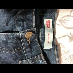 LEVI'S  511 Men's Jeans Size 18 Regular.